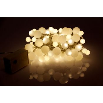 Light Creations Decolight Led 6m 90 Boules Blanc Chaud