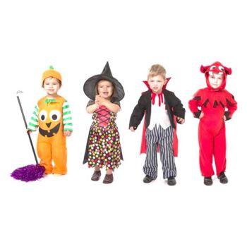 Goodmark Halloween Costume Bambin 1-4 Ans 4 Types