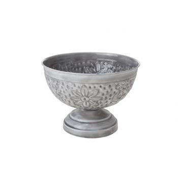 Cosy & Trendy Bol Sur Pied 20.5x20.5x15cm Metal Gris