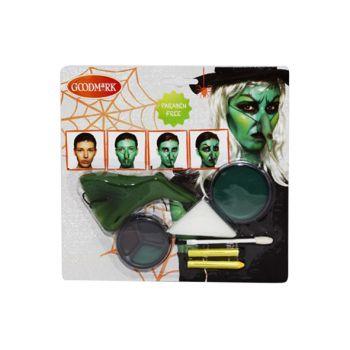 Goodmark Halloween Maquillage - Set Sorciere
