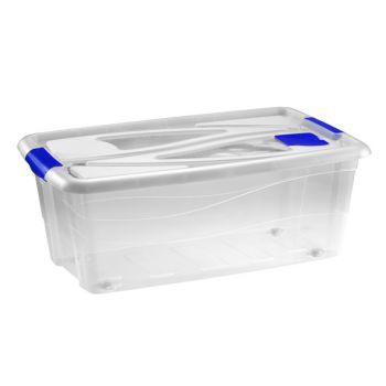 Hega Hogar Box Transparant A/rouleaux - 65l