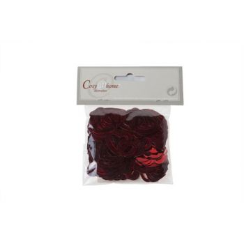Cosy @ Home Deco De Table Coeurs Mix Set15g Rouge