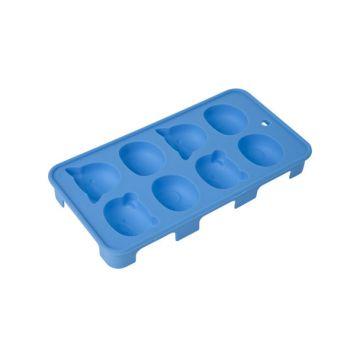 Cosy & Trendy Bac A Glacons Animaux 20x11x2.5cm Bleu