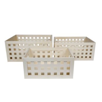 Cosy & Trendy Boites De Rangement Set3 Multipl. Carre