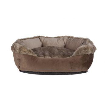 Cosy & Trendy Lit Pour Chien -coussin Brun 70x60x25cm