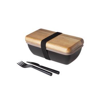 Cosy & Trendy Box-repas 18x9.5x7cm Avec Couverts