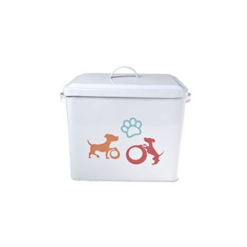 Cosy & Trendy Bac De Stockage Dog Blanc 27x19x23cm