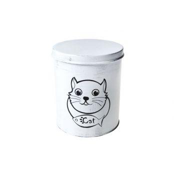 Cosy & Trendy Boite De Nourriture P.chat D15.5xh18cm