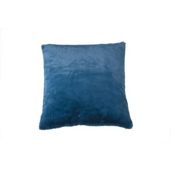 Cosy @ Home Coussin Bleu Petrol CarrÉ Textile 45x45x