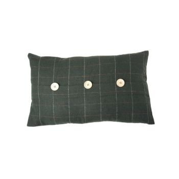 Cosy @ Home Coussin Vert Rectangle Textile 50x30xh0