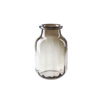 Cosy @ Home Vase Brun Rond Verre 18x18xh26 Optic