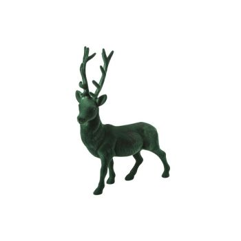 Cosy @ Home Cerf Vert Fonce Synthetique H40 Flocked