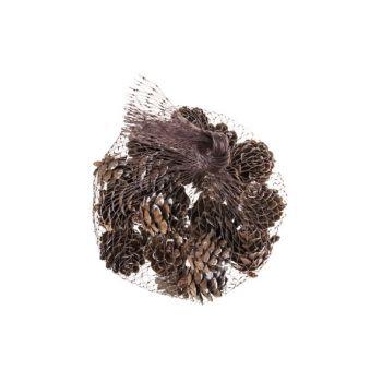 Cosy @ Home Pomme De Pin Brun Bois 2x2xh2 Snowy