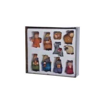 Cosy @ Home Figures Creche Set10 Multi-colore Cerami
