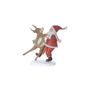 Cosy @ Home Pere Noel Rouge Polyresine 19,6x9xh18 Da