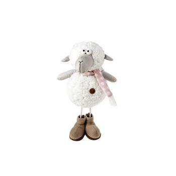 Cosy @ Home Mouton Blanc Textile 18x15xh34 Standing