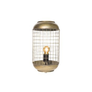 Cosy @ Home Lampe Laiton Rond Metal 21x21xh94