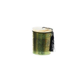 Cosy @ Home Bougie En Pot Vert Verre 9x9xh11cm