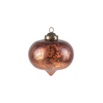 Cosy @ Home Susp. Onion Antique Mat Rouille D9xh10cm