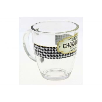Cerve Retro Breakfast Tasse En Verre 38 Cl
