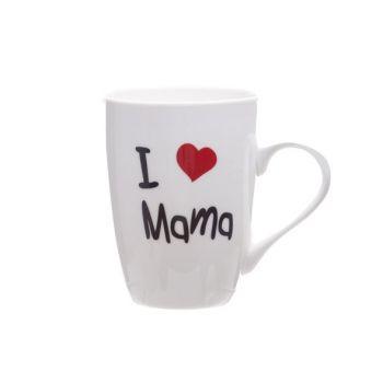 Cosy & Trendy Gobelet 'i Love Mama' 360ml D8,3xh10,5cm