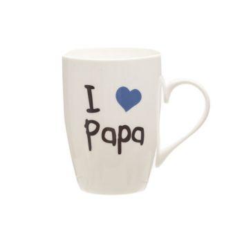 Cosy & Trendy Gobelet 'i Love Papa' 360ml D8,3xh10,5cm