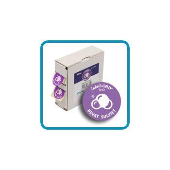 Labellord Allergenes Soutre 25mm Roul S500 Etiq.