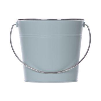 Cosy @ Home Seau Matt Silver Handle Mint 18,5x14xh16