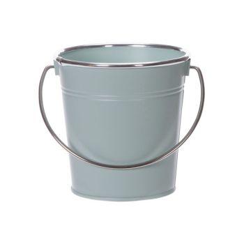Cosy @ Home Seau Matt Silver Handle Mint D13xh13cm R