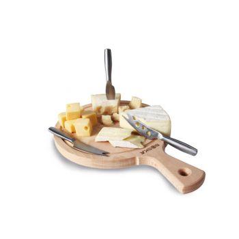 Boska Cheeseset Amigo Planche Avec 3 Couteau