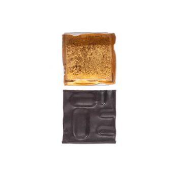 Cosy @ Home Bougeoir Noir 7,5x7,5xh7,5cm Carre Metal