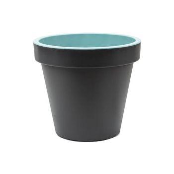 Cosy & Trendy Cp Noir Anthr. Pastel Vert D40xh35 Cm