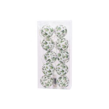 Cosy @ Home Guirlande Led Cactus 10l Blanc Vert 165c