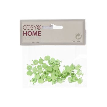 Cosy @ Home Poule Deco 24pcs In Polybag Vert Pastel