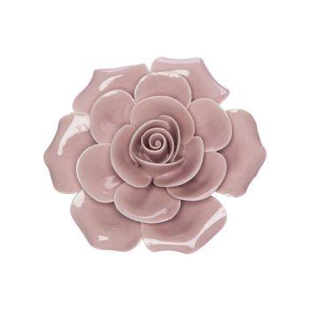 Cosy @ Home Rose Rose 6x6xh3cm Porcelaine