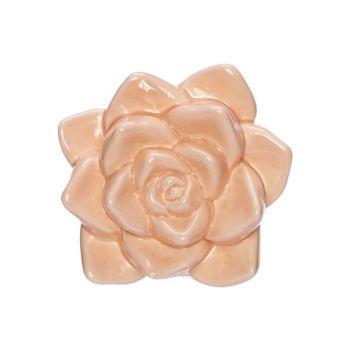 Cosy @ Home Fleur Peach 10,1x10xh5cm Porcelaine
