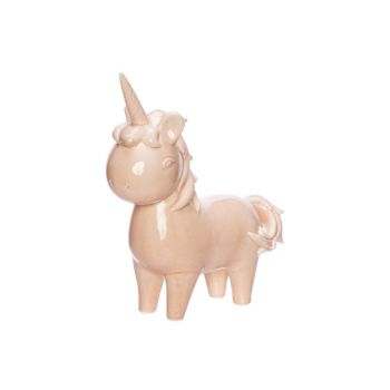 Cosy @ Home Licorne Standing Rose 20x8xh22,5cm Porce