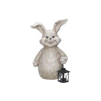 Cosy @ Home Lapin Lanterne Beige 31,2x17,5xh43cm