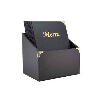 Securit Basic 10x Support Menu In Box A4 Noir