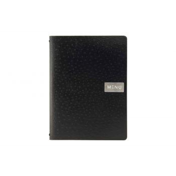 Securit Support Menu Noir 33x24,6xh,5cm A4