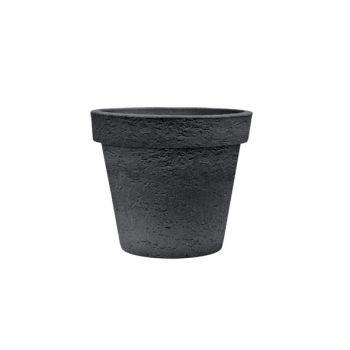 Cosy & Trendy Cp Topf Pisa Rond D40xh35cm Noir-anthrac