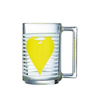 Luminarc Mug Mon Coeur Jaune 32 Cl