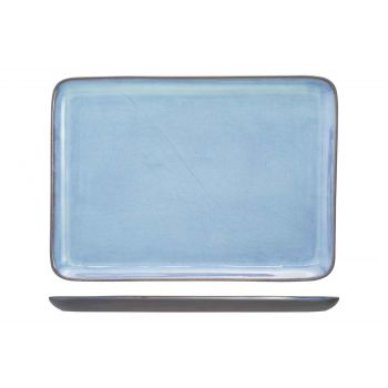 Cosy & Trendy Baikal Blue Assiette 31,5x22,5cm Rectang