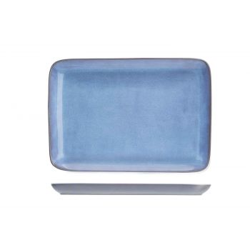 Cosy & Trendy Baikal Blue Assiette 21x15cm Rectangle