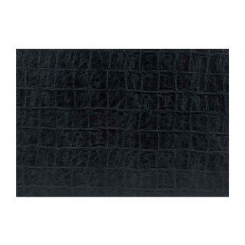 Cosy & Trendy Placemat Cuire Look Noir 43xh30cm