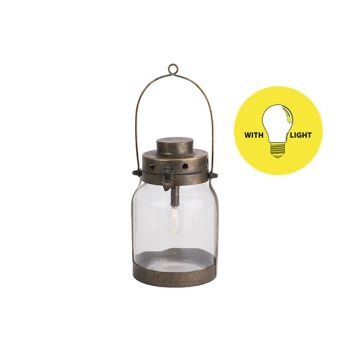 Cosy @ Home Lampe Lantern Dore 17x16xh26,5cm Metal