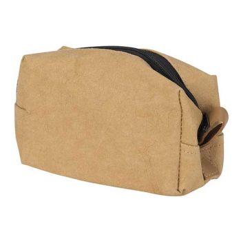 Cosy @ Home Trousse De Toilette Paper Ocre 13,5x9xh6