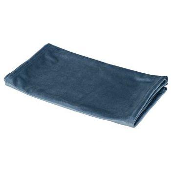 Cosy @ Home Chemin De Table Velvet Bleu Glacon 40x18