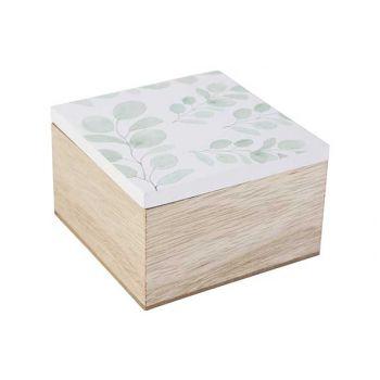 Cosy @ Home Boite Eucalyptus White Naturel 10x10xh6,