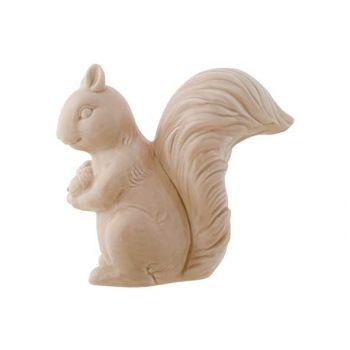 Cosy @ Home Ecureuil Beige 8x15,5xh14,9cm Ceramique